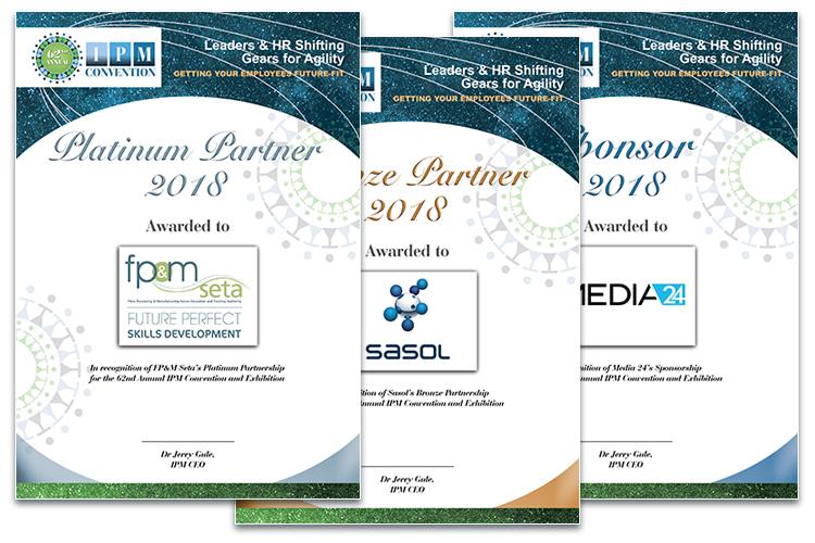 Convention 2018 - certificates