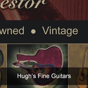 Hugh's Fine Guitars - portfolio