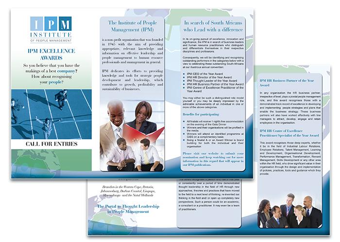 IPM Z-fold brochure
