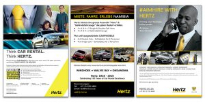 Hertz - print adverts