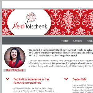 Website - Heidi Volschenk
