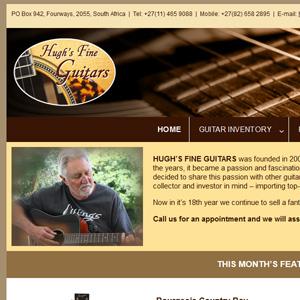 Website - Hughs Fine Guitars