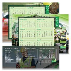 Tank Services - A-frame calendar