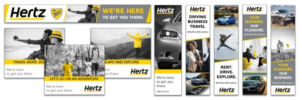 Hertz Digital adverts