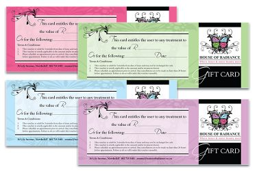 House of Radiance - gift cards