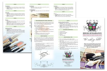 Make-up-leaflet
