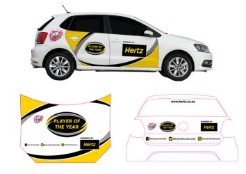 Hertz Varsity Cup vehicle